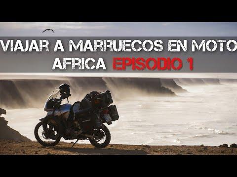 Viajar por Marruecos en moto | Vuelta al mundo en moto | África #1 [ENG SUB]