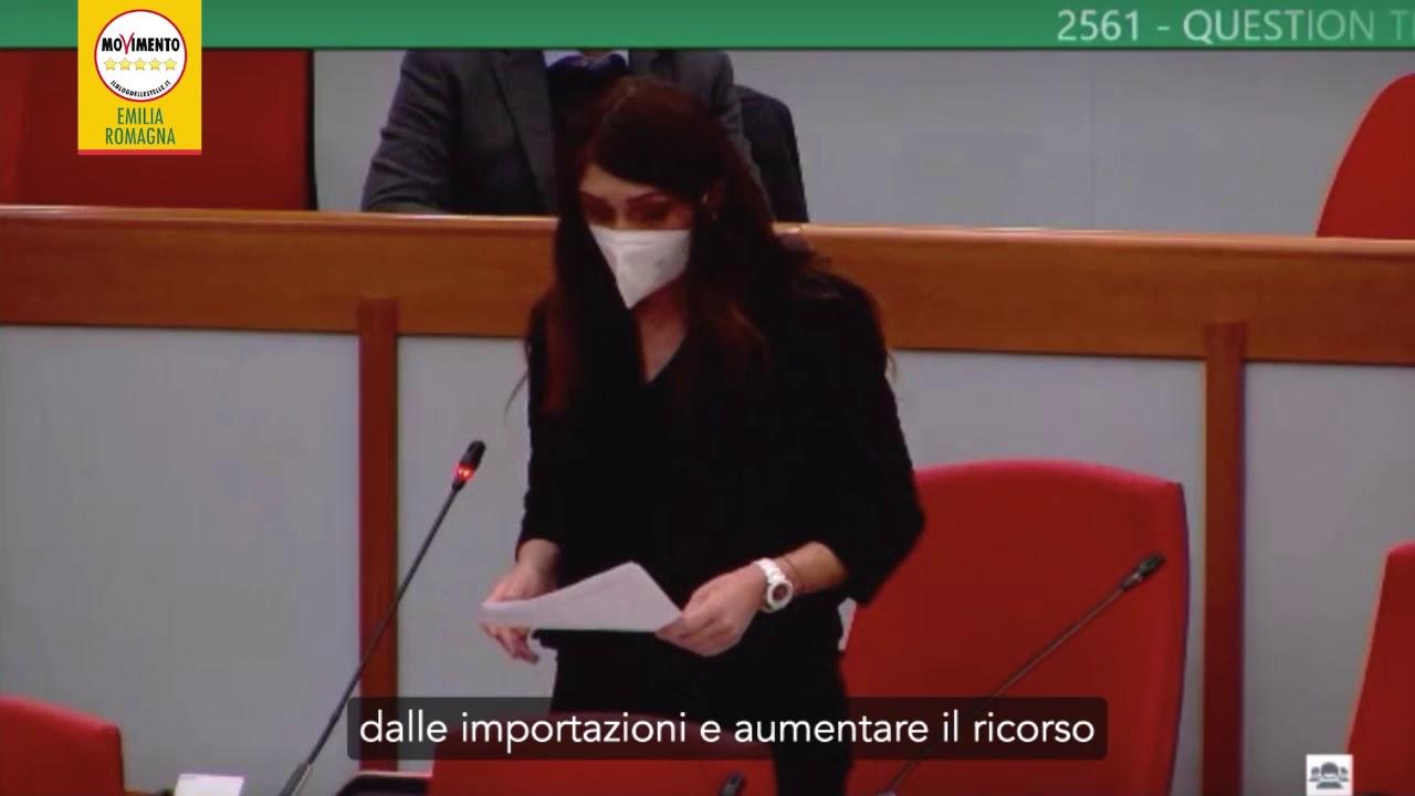 Stoccaggio gas a Minerbio: question time di Silvia Piccinini (M5S) - YouTube