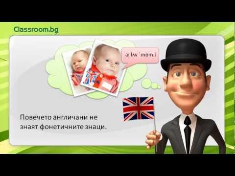 Английски език, А1, Фонетични Знаци (транскрипция)