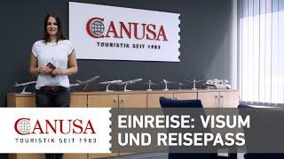 CANUSA erklärt: Der deutsche Reisepass für die Einreise nach Nordamerika | CANUSA