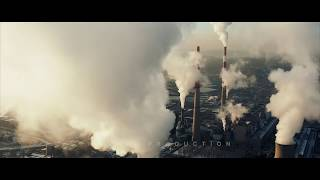 China Aerials: Industrial Lands, Factories,Exhaust Gas, Pollution in China
