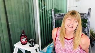 Rocking Chair Makeover and a story about A Date at an Ice Cream Shop!