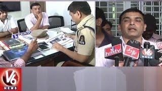 DJ Director Harish Shankar And Producer Dil Raju Files Complaint To CCS Police Over Piracy   V6 News