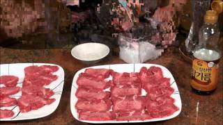Recipe for Grilled Beef Tongue / Gyutan