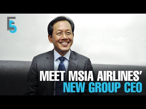 EVENING 5: Izham Ismail is Malaysia Airlines' new CEO