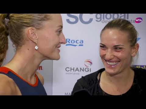 Babos/Mladenovic   My Performance   2018 Singapore Doubles Final