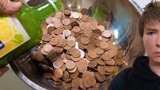 汚い大量の10円をピカピカにするぞ!! 【実験】  PDS thumbnail