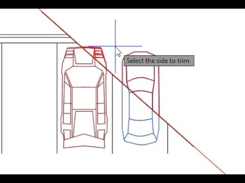 How to Trim an AutoCAD Block using Civil 3D