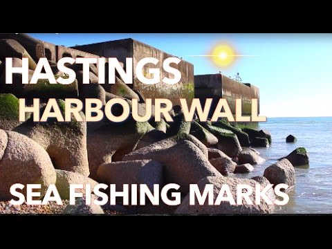 Hastings Wall Sea Fishing Mark
