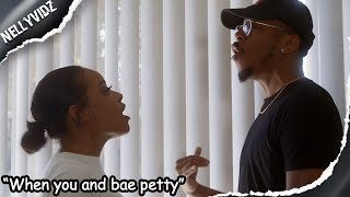 When you and bae petty| Comedy skit