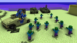 видео: Нашли танки!| ВЫЖИТЬ В ЗОМБИ АПОКАЛИПСИСЕ | Minecraft | 26 Серия
