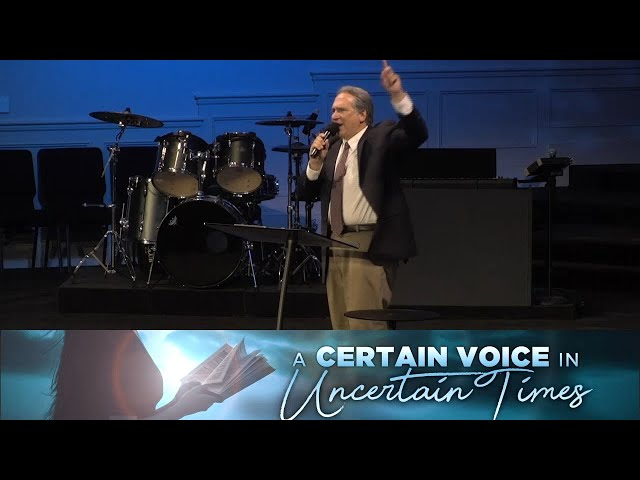 07/08/2020 -  A Certain voice in Uncertain Times - Pastor David Myers