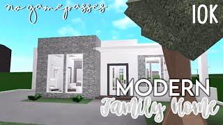 Bloxburg - 10k No Gamepass |Modern Family Home