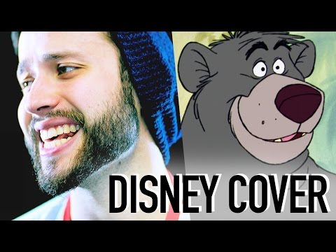 JUNGLE BOOK - Bare Necessities - (Disney Rock cover by Jonathan Young)