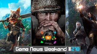 Игровые Новости — Game News Weekend #218 | (Call of Duty WW2, Left Alive, BioMutant, The Witcher 4)