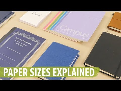 Paper Sizes Explained