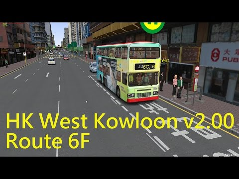 OMSI 2 HK West Kowloon v2.00 Route 6F