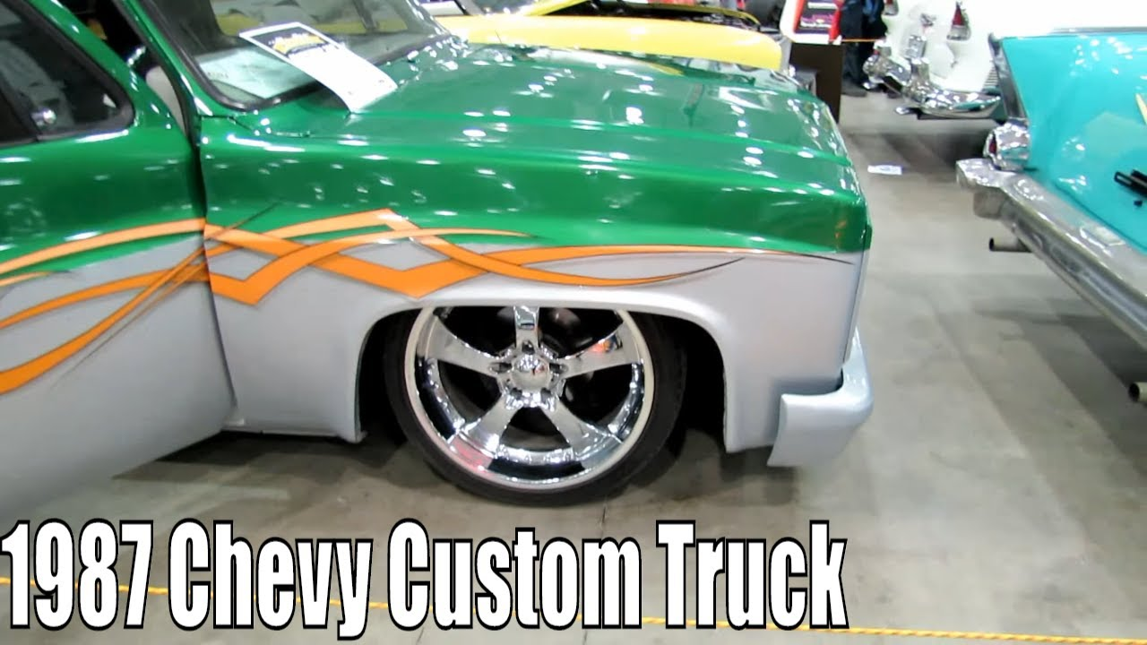 1987 Chevy Custom Truck - YouTube