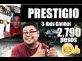 PRESTIGIO 3-AXIS GIMBAL ( review) kimstorePH