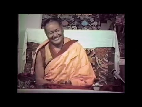Lama Yeshe on the importance of working together