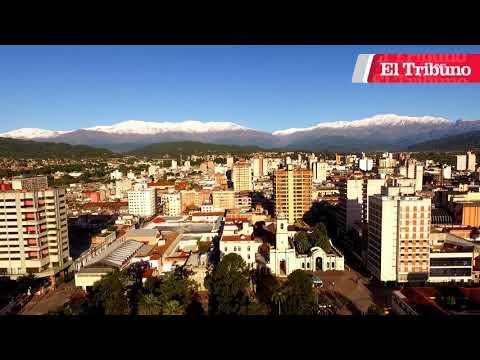 #DesdeElAire Cerros Nevados en San Salvador de Jujuy