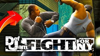 BEST FIGHTING GAME EVER?!! | Def Jam Fight For NY
