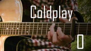 (Coldplay) O - Albert Gyorfi (Solo acoustic guitar) [+TABS]