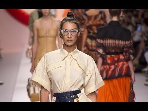 FENDI Spring Summer 2019 Highlights Milan - Fashion Channel