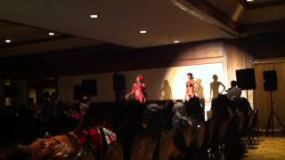 Bikini Clients Performing at Los Angeles Fashion Event
