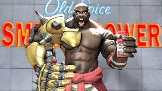 [SFM] If Doomfist was filmed in the Old Spice commercials