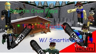 Roblox Flee The Facility [Beta]! Part 6 BEY IS BEAST! W/ Penguin, Com, Bey, Spongebob and Jerry