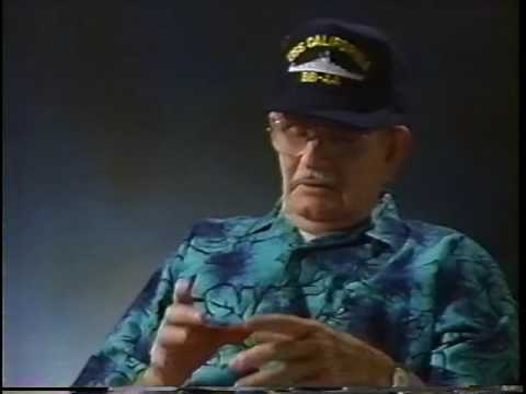 Pearl Harbor USS California Survivor Woody Duffin