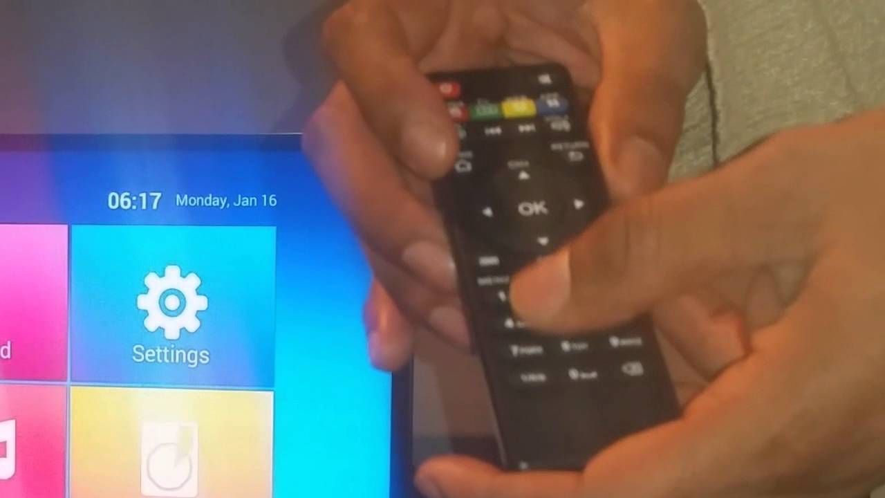 Android TV Box MKV Remote Control