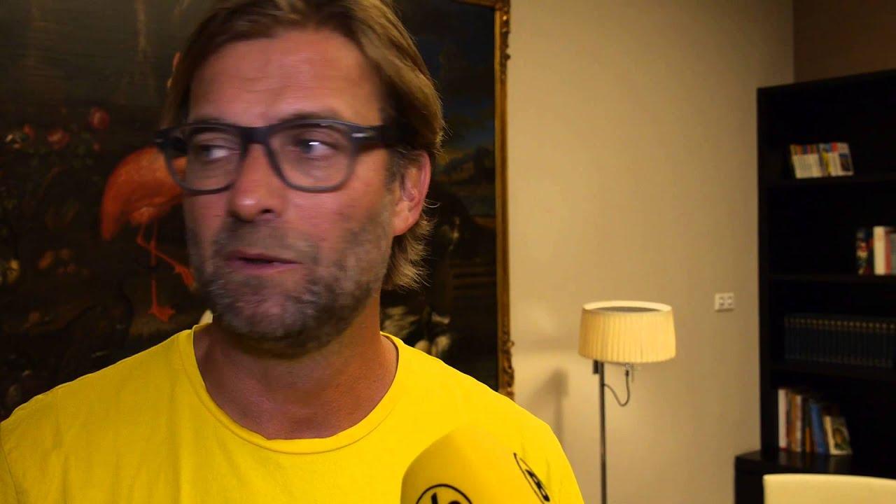 BVB-Trainer Jürgen Klopp über die Champions-League-Auslosung