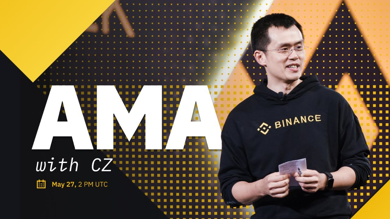 Download Live AMA with CZ Binance - BSC, NFT Marketplace, Binance Hotels and more!