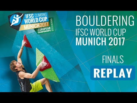 IFSC Climbing World Cup Munich 2017 - Bouldering - Finals - Men/Women