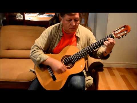 Una Paloma Blanca for Guitar