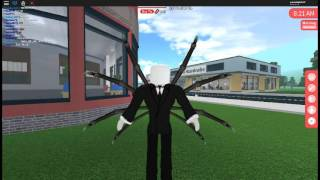 How to make slenderman in Robloxian highschool! :D