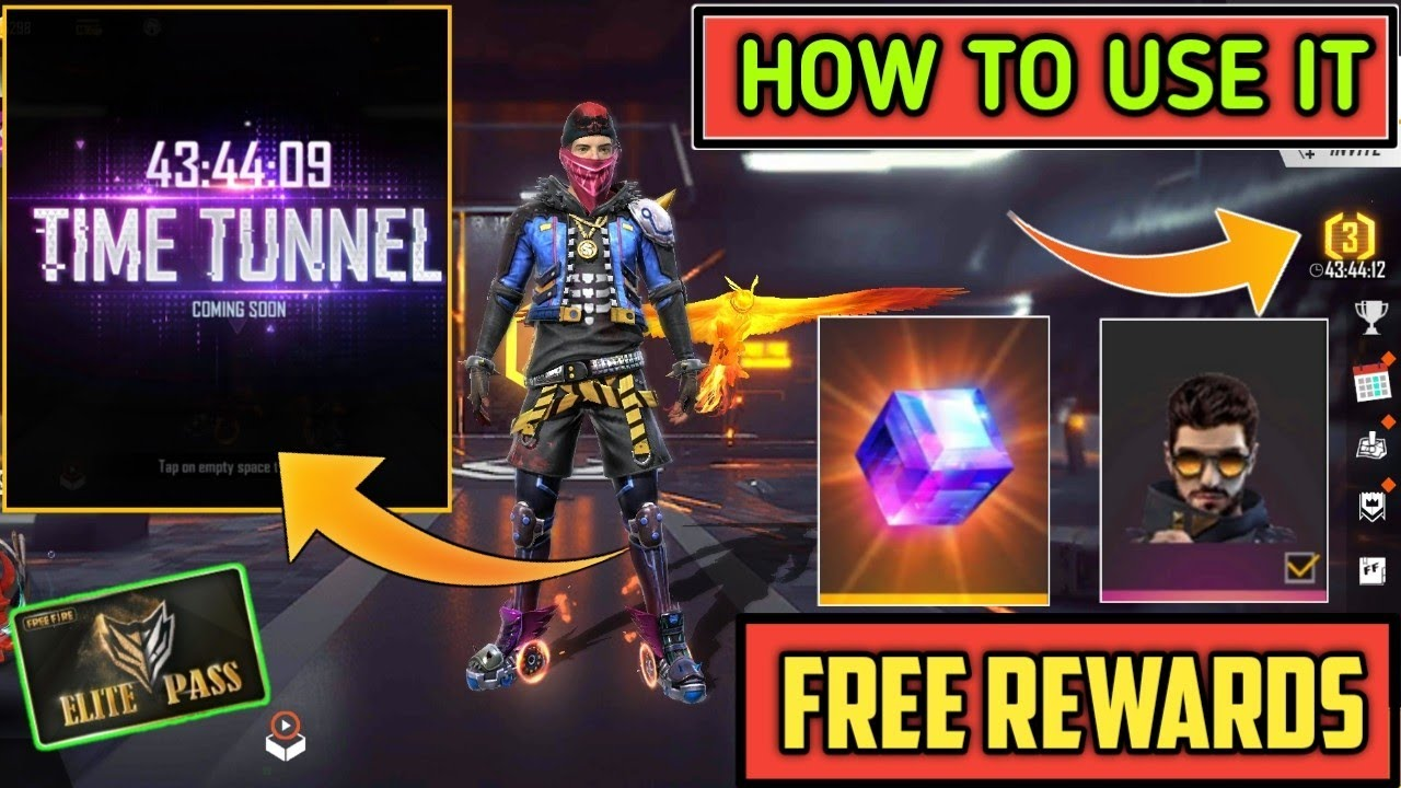 Free Fire Time Tunnel Event Full Details || 3rd Anniversary Event Confirm Rewards - Alpha Army