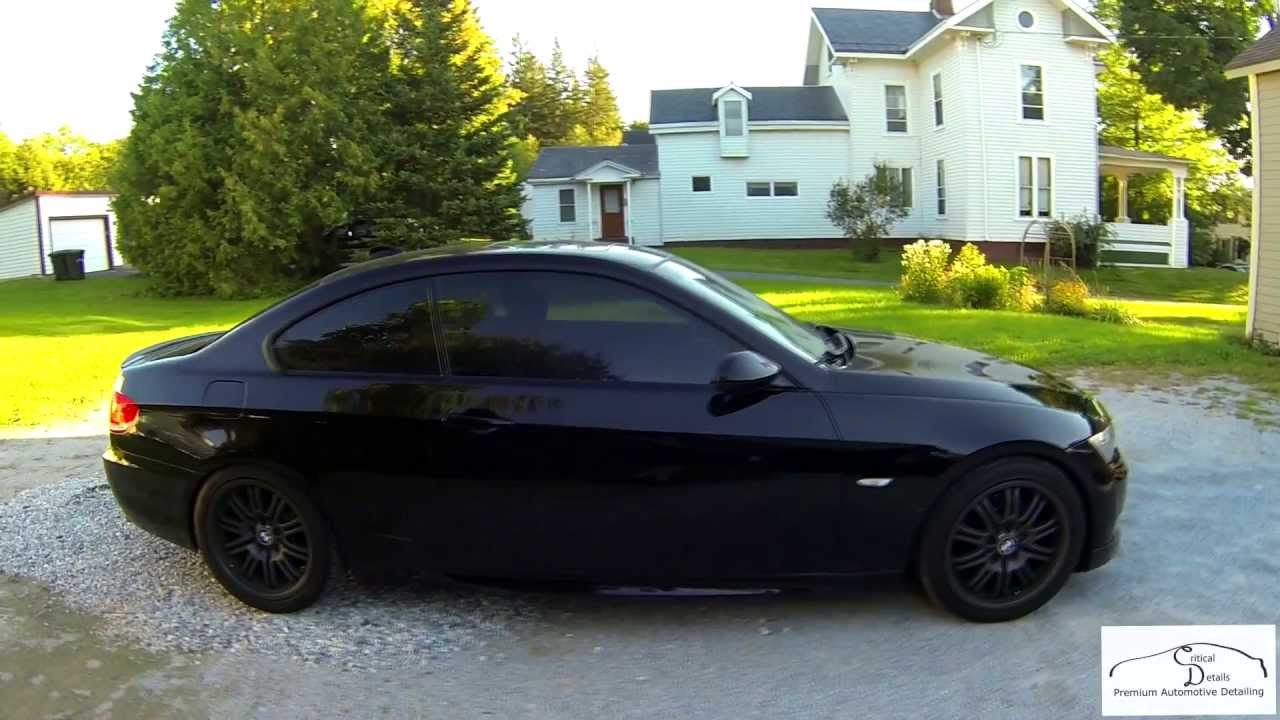 Truck Step Up >> Vermont Auto Detailing: BMW 328XI Jet Black - Major Paint ...