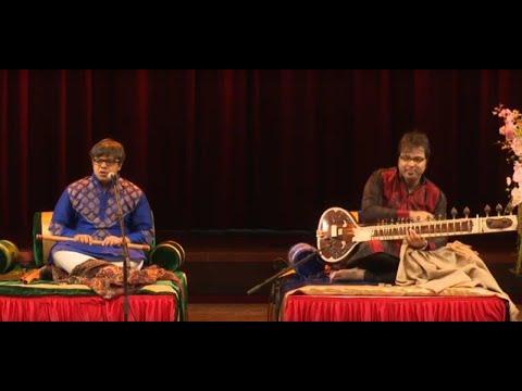 Sitar - Flute Duet - Purbayan Chatterjee (sitar) and Shashank Subramanyam (flute) - Raga Yaman