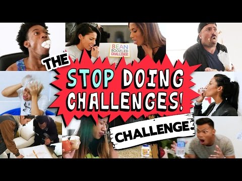 The Stop Doing Challenges Challenge!