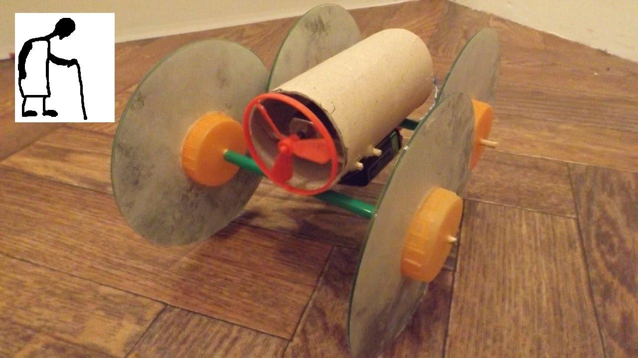 Fan Driven Toilet Roll Car Youtube