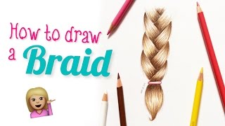 How To Draw A Braid | Everything Faye
