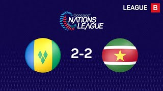 #CNL Highlights - St. Vincent and the Grenadines 2-2 Suriname