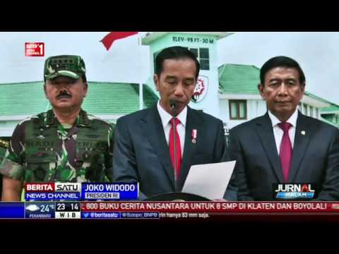 Pidato Jokowi Sebelum Bertolak ke Istanbul untuk Hadiri KTT OKI