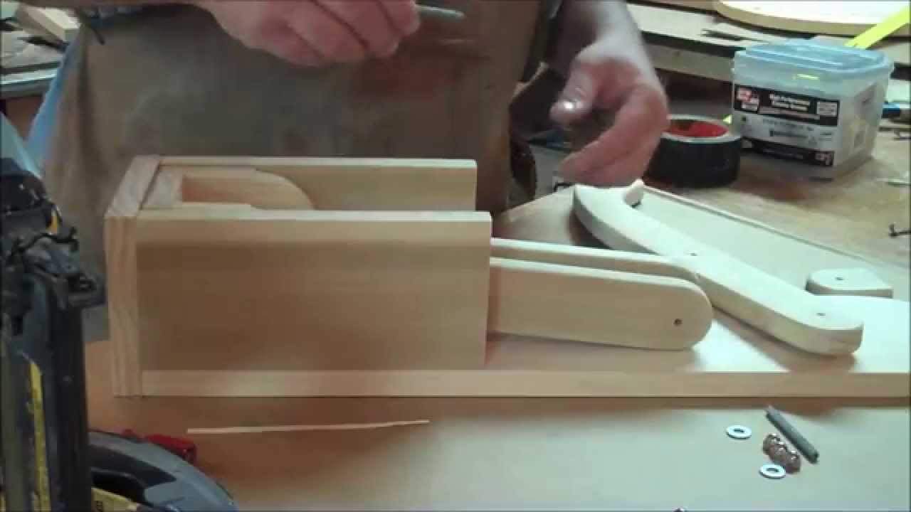 Timber Jacks Woodshop Wooden Can Crusher Instructional Video