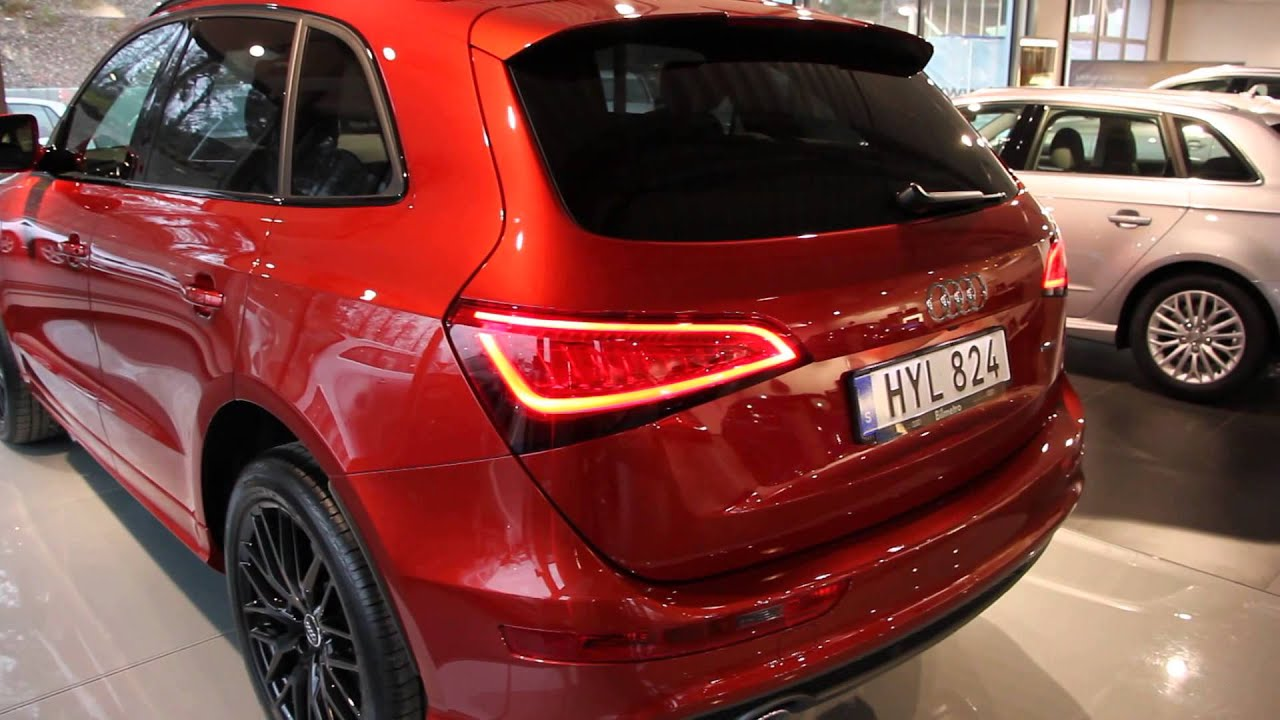 Volcano red 2016 Audi Q5 TDI quattro(walkaround) - YouTube