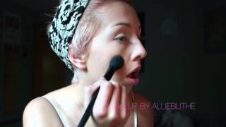 Hot Orange & Pink Makeup Tutorial | 2015 | Allieblithe