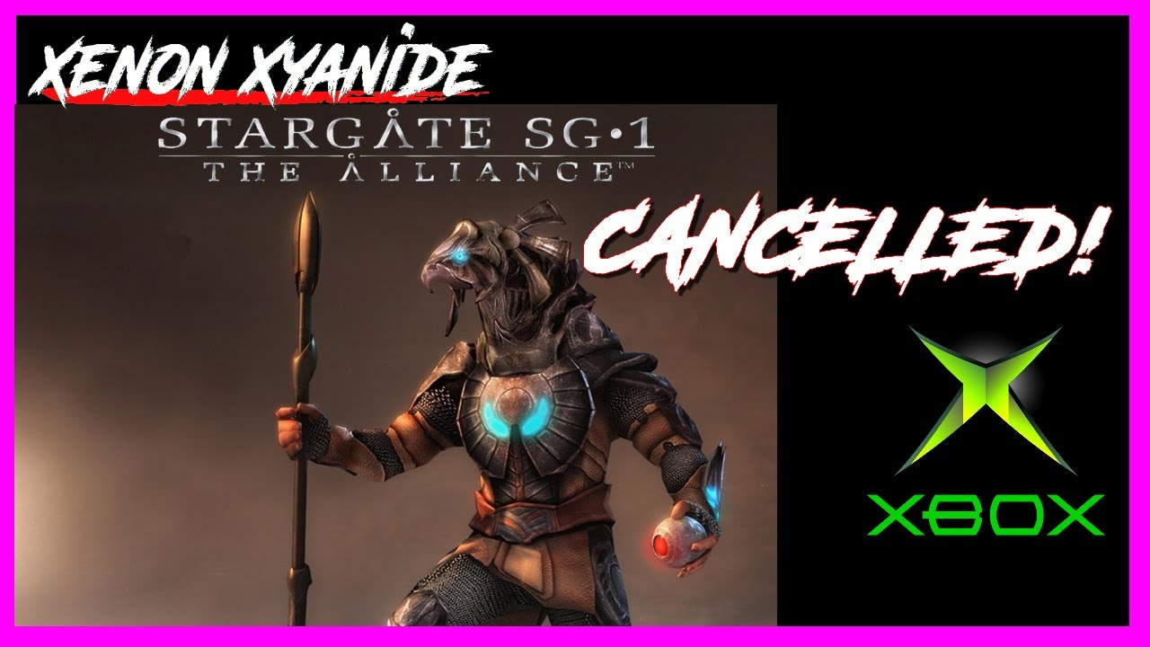 CANCELLED VIDEO GAMES: Stargate SG-1 The Alliance (PS2, XBOX & PC) 2005